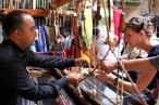 On an artisanal tour in Fez.